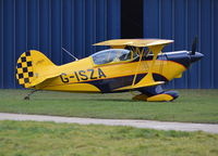 G-ISZA @ EGLM - Aerotek Pitts S-2A at White Waltham.