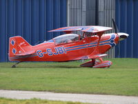 G-SJBI @ EGLM - Aviat Pitts S-2C at White Waltham. Ex N10UK