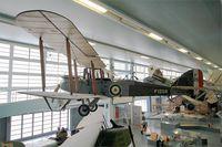 F1258 @ LFPB - De Havilland DH-9, Air & Space Museum, Paris-Le Bourget (LFPB-LBG) - by Yves-Q