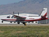 C-FCZZ @ KBOI - Take off run on RWY 28R. - by Gerald Howard