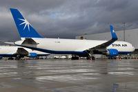 OY-SRW @ EDDK - Boeing 767-346F(ER)(WL) - Star Air - 35818 - OY-SRW - 11.02.2018 - CGN - by Ralf Winter