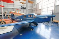 F-ANRO @ LFPB - Caudron C.635M Simoun, Exibited at Air & Space Museum Paris-Le Bourget (LFPB) - by Yves-Q