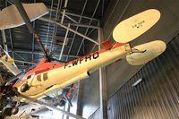 F-WFRQ @ LFPB - Sud-Ouest SO.1110 Ariel II, Air & Space Museum Paris-Le Bourget (LFPB) - by Yves-Q