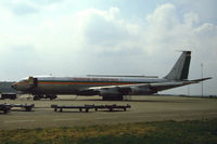 9J-AEQ @ EHAM - National Air Charters Boeing 707-321C freighter at the platform of Schiphol-Oost, the Netherlands, 1987 - by Van Propeller