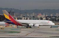 HL7641 @ KLAX - Airbus A380-841
