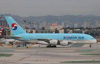 HL7612 @ KLAX - Airbus A380-861