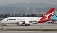 VH-OQC @ KLAX - Airbus A380-842