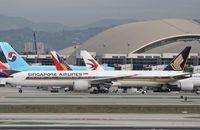 9V-SWR @ KLAX - Boeing 777-300ER - by Mark Pasqualino