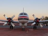 C-GKFO @ KBOI - Parked on the NIFC ramp at dawn. - by Gerald Howard