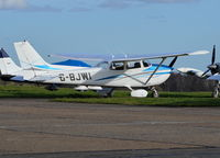 G-BJWI @ EGTF - Reims F172P Skyhawk at Fairoaks.