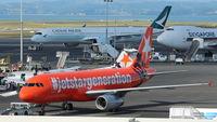 VH-VGF @ NZAA - Jetstar - by Jan Buisman