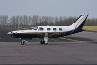 N955SH @ EGSH - Just landed at Norwich. - by Graham Reeve