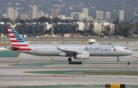 N132AN @ KLAX - Airbus A321 - by Mark Pasqualino