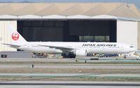 JA742J @ KLAX - Boeing 777-300ER