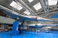 01 @ LFPB - Dassault Mirage III A, Air & Space Museum Paris-Le Bourget (LFPB) - by Yves-Q