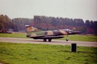 BA-56 @ EBST - BAF Mirage V BA-56 @ EBST eighties - by Guy Vandersteen