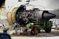 D-AHLB @ LOWW - Engine close-up - by Hotshot