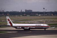 CS-TBG @ EHAM - TAP Air Portugal Boeing 707-382B taxiing at Schiphol airport, the netherlands, 1983 - by Van Propeller