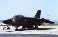 68-0083 @ LFQI - USAF F-111E 68-0083 @ LFQI Nato Tiger Meet june 1986 - by Guy Vandersteen