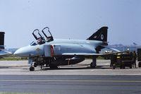 ZE353 @ LFQI - RAF F-4J ZE353 @ LFQI Nato Tiger Meet june 1986 - by Guy Vandersteen