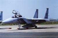 79-0009 @ LFQI - USAF F-15D 79-0009 @ LFQI Nato Tiger Meet june 1986 - by Guy Vandersteen