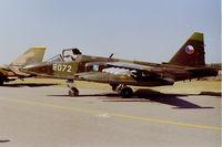 8072 @ EBBL - Su-25 8072 @ Kleien Brogel airshow June 1991 - by Guy Vandersteen