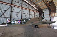 TB597 @ LFPB - Supermarine 361 Spitfire LF.XVIe, Air & Space Museum Paris-Le Bourget (LFPB-LBG) - by Yves-Q
