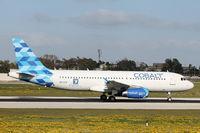 5B-DCR @ LMML - A320 5B-DCR Cobalt Airlines - by Raymond Zammit