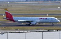 EC-JQZ @ EBBR - Iberia A321 on its way for take-off - by FerryPNL