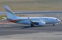 5U-GRN @ EBBR - BBJ Niger 1 taxying for departure from BRU - by FerryPNL