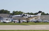 N2110A @ KOSH - Beech 58P at Airventure - by Eric Olsen
