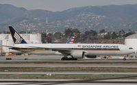 9V-SWG @ KLAX - Boeing 777-300ER - by Mark Pasqualino