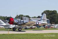 N69041 @ KOSH - BT-13 at Airventure. - by Eric Olsen