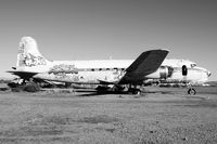 N44904 @ 34AZ - Taken at the Gila River (AZ) Memorial Airport.  It's an interesting example of what neglect and clowns with spray paint can destroy. - by Dave Turpie