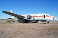 N44904 @ 34AZ - A sad sight.  Vandals have destroyed the planes abandoned at this airport. - by Dave Turpie