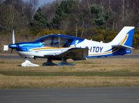G-ITOY @ EGLK - Robin DR-400-140B Major at Blackbushe. - by moxy