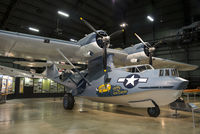 """44-33879 @ KFFO - On display at the National Museum of the U.S. Air Force. This former Brazilian Air Force Catalina has been painted as OV-10A """"Snafu Snatchers"""", assigned to the 2nd Emergency Rescue Squadron in the Pacific Theater during World War II."""