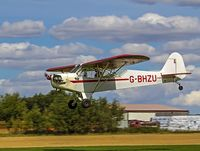 G-BHZU @ EGBR - Love the cub! - by dave marshall
