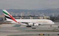 A6-EEV @ KLAX - Airbus A380-861 - by Mark Pasqualino
