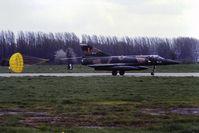 BR23 @ EBST - BAF 42 Recce Sqn Mirage 5BR BR23 at EBST (eighties) - by Guy Vandersteen
