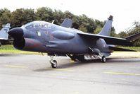 7 @ EBST - FM F-8 Crusader Brustem airshow 1996 - by Guy Vandersteen