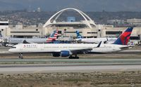 N593NW @ KLAX - Boeing 757-300 - by Mark Pasqualino