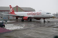 D-ABNV @ EGSH - Former Air Berlin seen about to enter the paint shop at Norwich and be painted into Edelweiss Air livery - by AirbusA320
