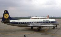 D-ANIP @ EDDV - Lufthansa Viscount at Hanover