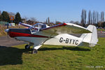 G-BYYC @ EGCF - at Sandtoft - by Chris Hall