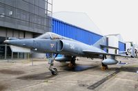 56 @ LFPB - Dassault Etendard IV.M, Exibited at Air & Space Museum Paris-Le Bourget (LFPB) - by Yves-Q