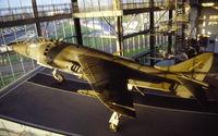 159233 @ EGDY - USMC AV-8A in the Fleet Air Arm museum, RNAS Yeovilton, 1998 - by Van Propeller