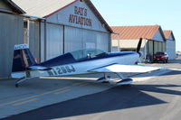 N129SJ @ SZP - 2001 Extra Fleugzeugbau Gmbh EA-300L, Lycoming AEIO-540 300 Hp, low wing version, Walter Extra design fully aerobatic - by Doug Robertson