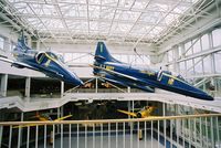 150076 @ KNPA - On display at the Museum of Naval Aviation, Pensacola. - by kenvidkid