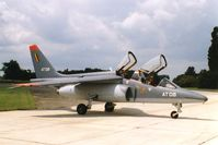 AT08 @ EBST - First aircraft painted in two tone grey July 1993 - by Guy Vandersteen